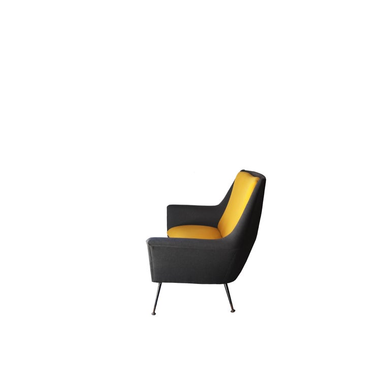 Italian Sofa Designed by Marco Zanuso, Italy, 1950 For Sale