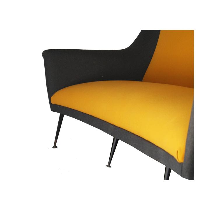 Sofa Designed by Marco Zanuso, Italy, 1950. In Good Condition For Sale In Madrid, ES