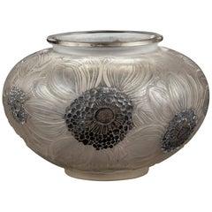 René Lalique Vase Dalhias