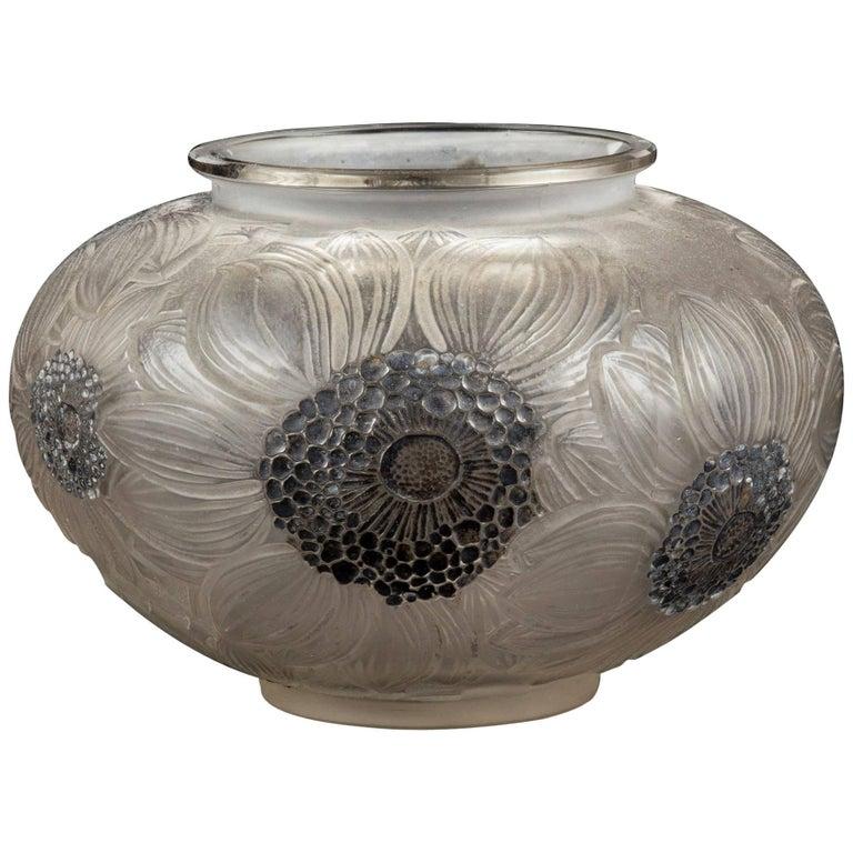 Ren Lalique Vase Bamako At 1stdibs