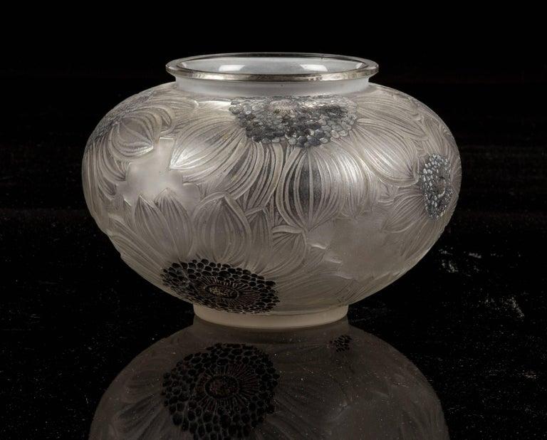 Ren Lalique Vase Dalhias For Sale At 1stdibs