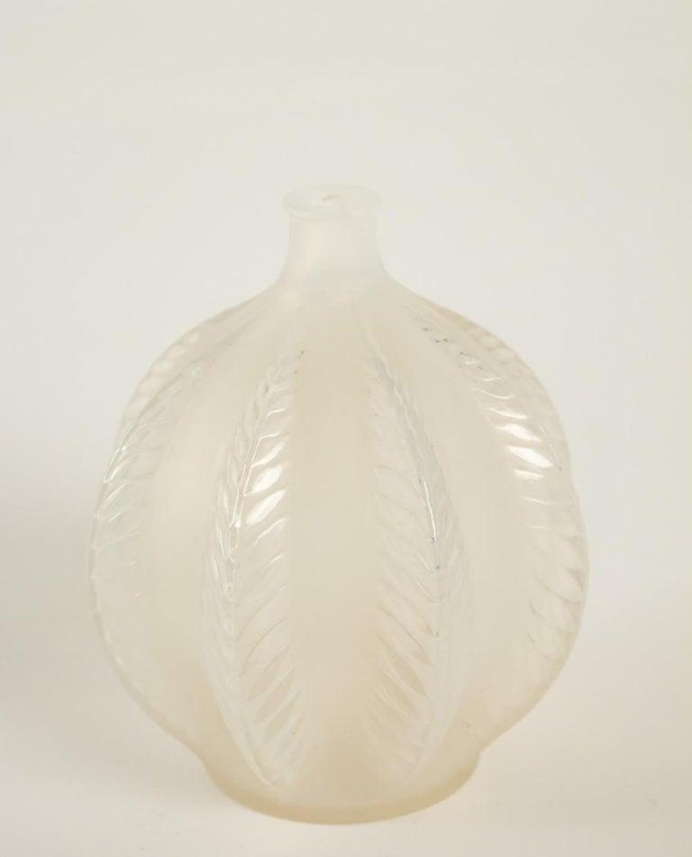 Rene Lalique Opalescent Vase