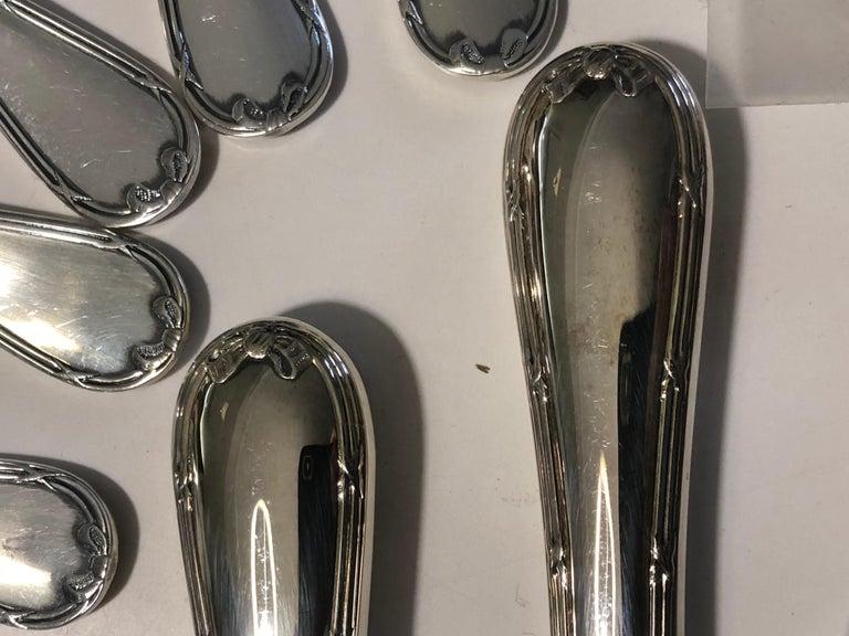 Christofle  24 Silver Plated Set Flatware