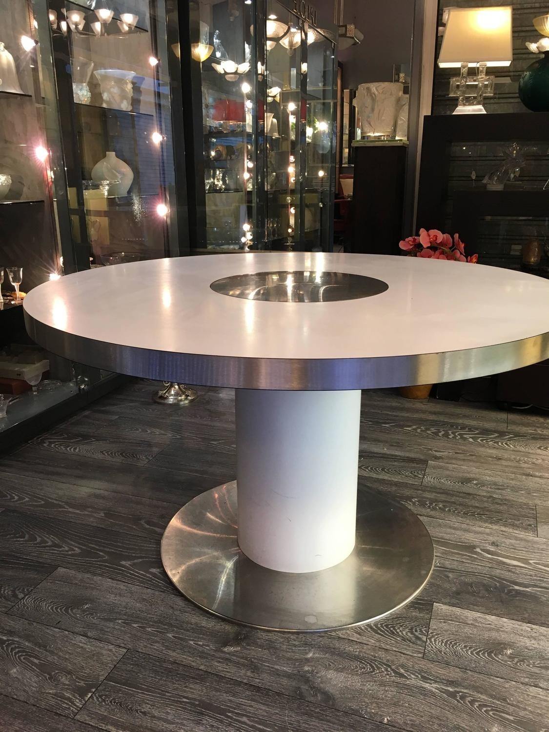 Willy rizzo dining table savage for sale at 1stdibs for Table willy rizzo