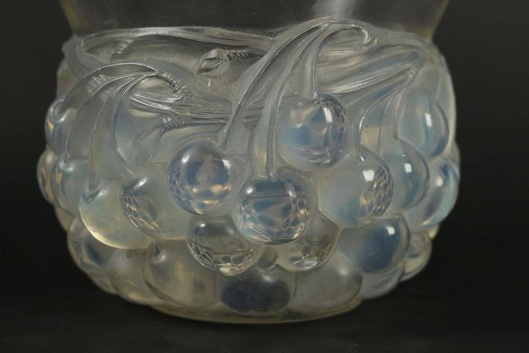 Art Deco René Lalique Opalescent Vase