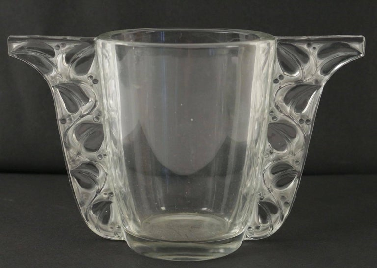 Molded Rene Lalique Vase