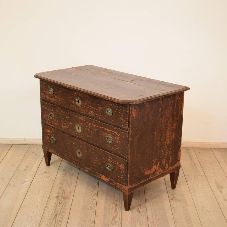 19th Century Biedermeier / Gustavian Chest of Drawers For Sale 2