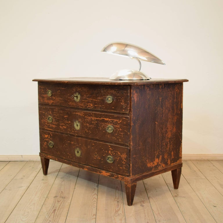 19th Century Biedermeier / Gustavian Chest of Drawers For Sale 5