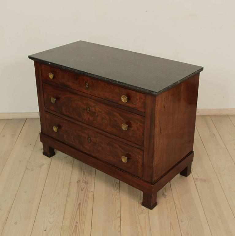 French Early 19th Century Empire Period Commode For Sale