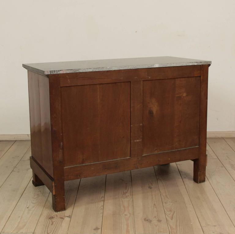 Veneer Early 19th Century Empire Period Commode For Sale