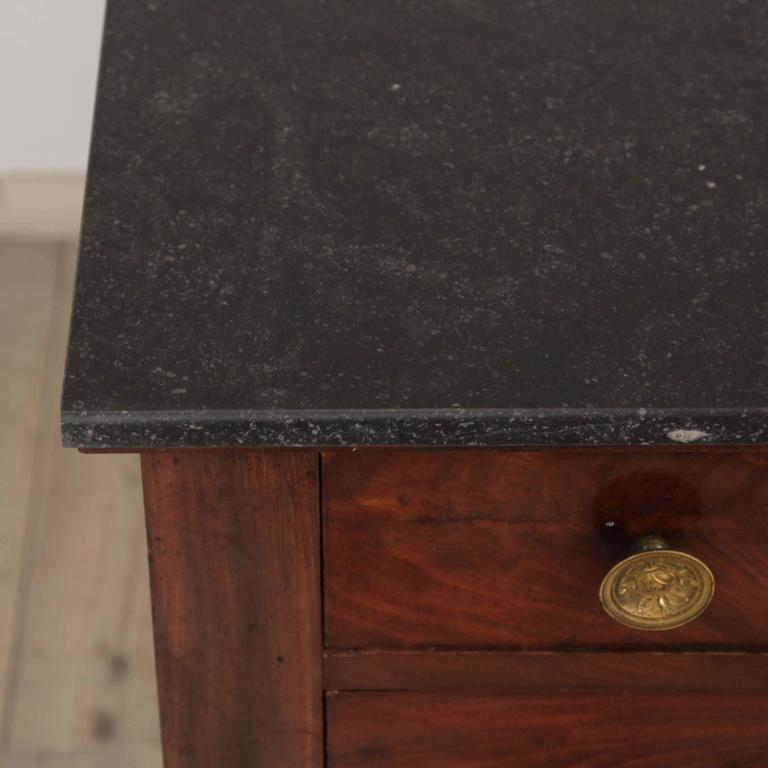 Marble Early 19th Century Empire Period Commode For Sale