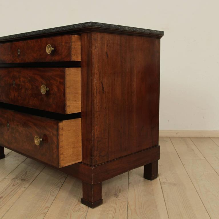 Early 19th Century Empire Period Commode For Sale 4