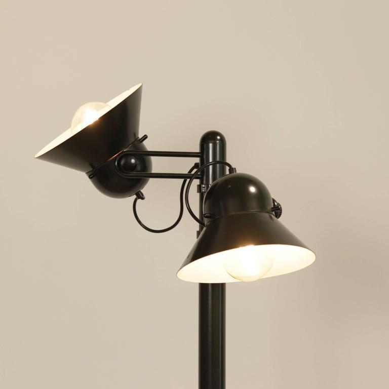 Plastic Gae Aulenti Floor Lamp by Stilnovo, circa 1975 For Sale