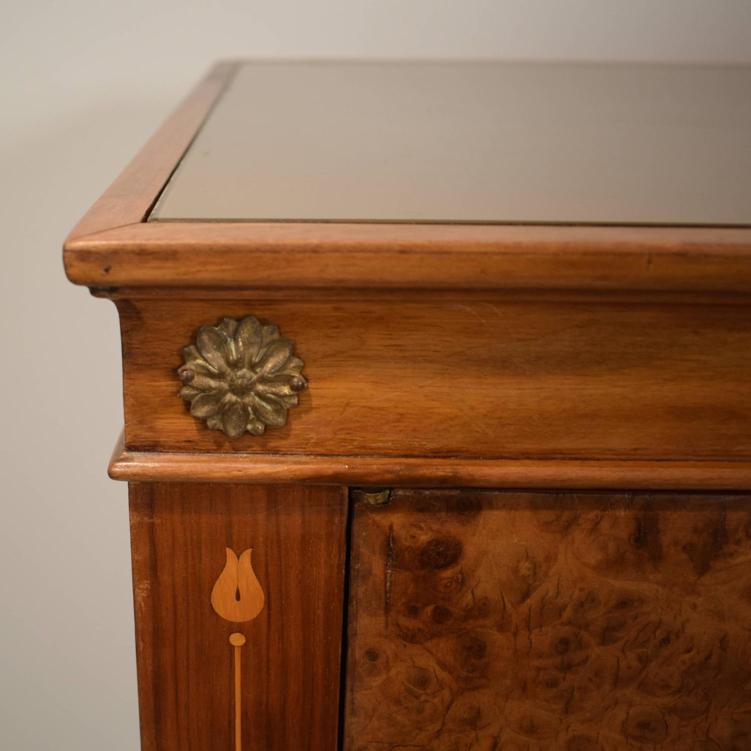 1940s italian walnut bar cabinet for sale at 1stdibs for 1940s kitchen cabinets for sale