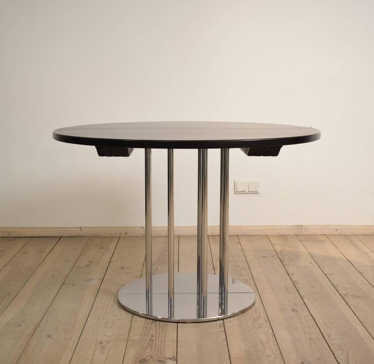 This Extendable Dining Table Was Designed And Manufactured In The 1986 By  Thonet. The Table