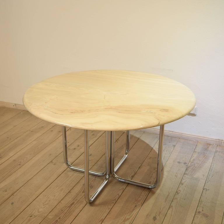 Round Vintage Marble Dining Table from Tecta 1960s at 1stdibs : DSC0271l from www.1stdibs.com size 768 x 768 jpeg 40kB