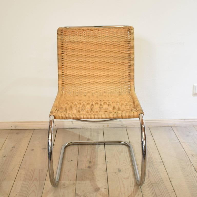 S533 Cantilever Chair By Ludwig Mies Van Der Rohe For