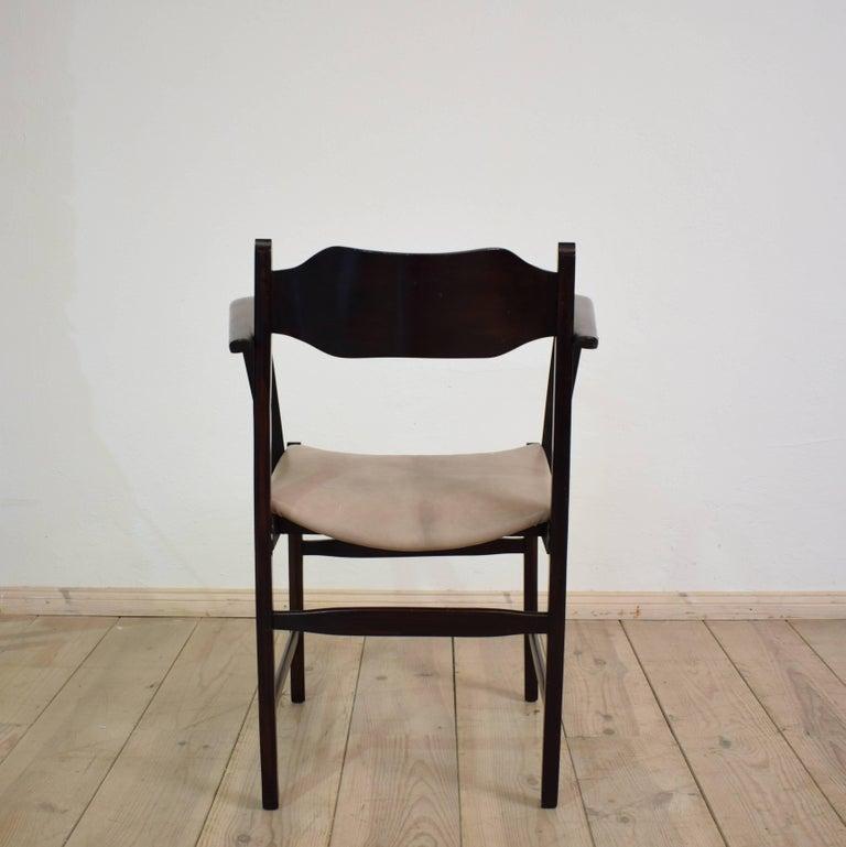 Early 20th Italian Art Deco Armchair For Sale 1