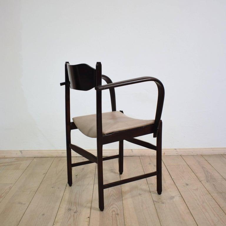 Early 20th Italian Art Deco Armchair For Sale 2