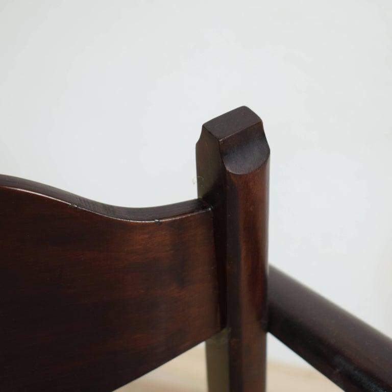 Early 20th Italian Art Deco Armchair For Sale 3