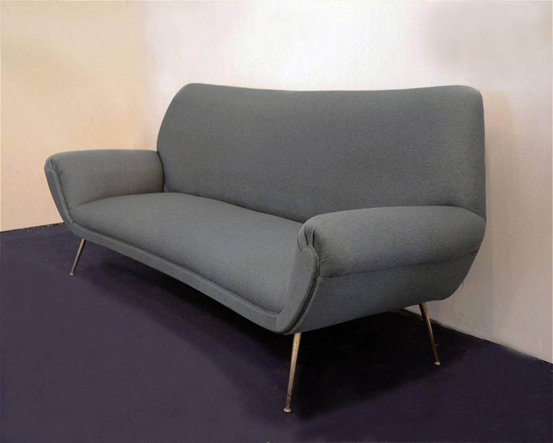 1950s Italian Three Seats Sofa by Isa Bergamo For Sale at 1stdibs