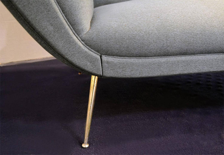 1950s Italian Three Seats Sofa by Isa Bergamo For Sale at ...
