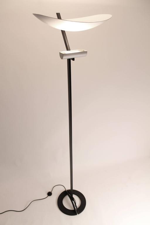 Zen by artemide tall halogen floor lamp vintage modern for Halogen floor lamp nyc