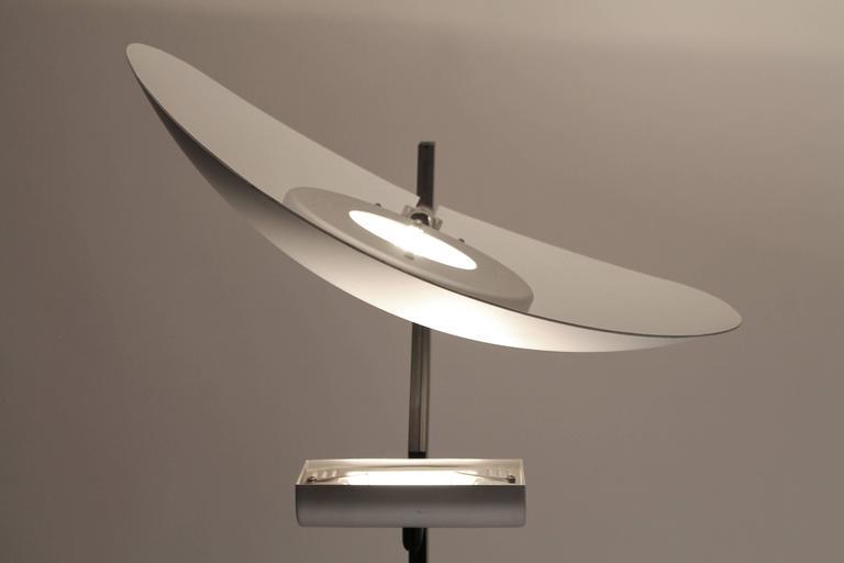 Zen By Artemide Tall Halogen Floor Lamp Vintage Modern 1980s Italy At 1stdibs