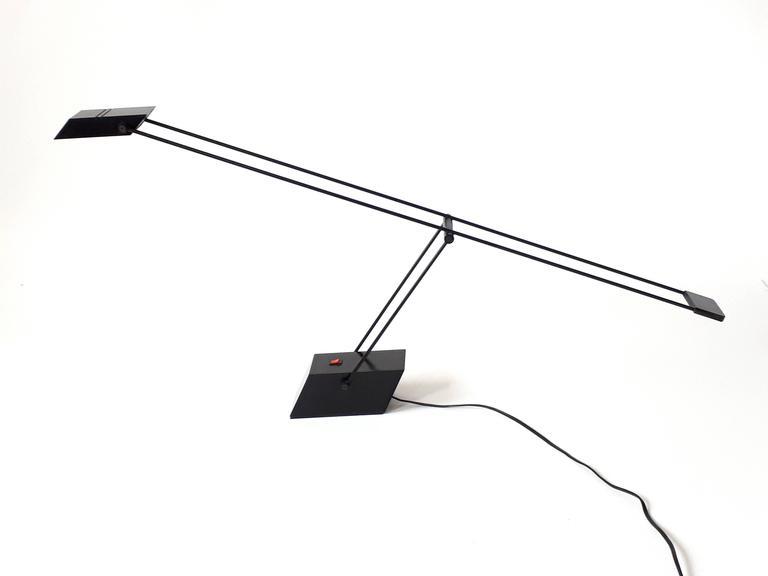 Modern Italian Halogen Table Lamp , 1970s For Sale