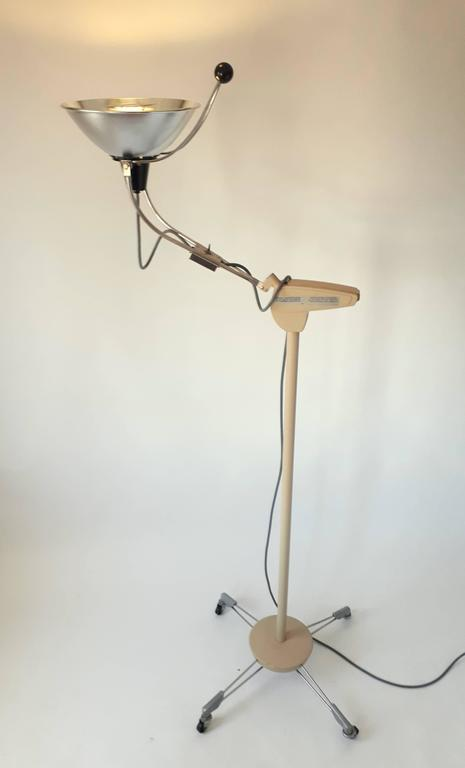 American Medical Floor Lamp, Mid-Century Modern, 1970s, USA For Sale