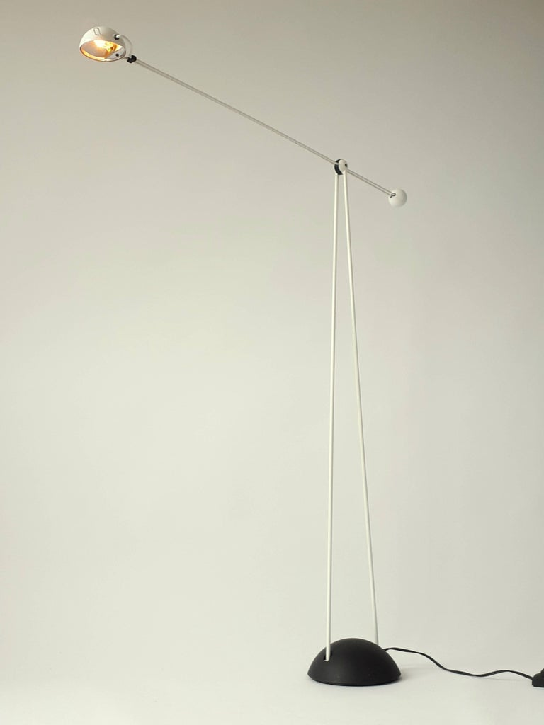 Modern Italian Halogen Floor Lamp 'Yuki' from Stephano Cevoli, 1983 For Sale 2