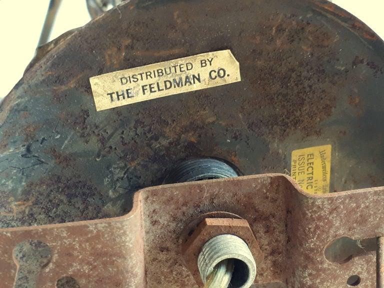 Brutalist Brass Chandelier by Tom Greene for Feldman, 1960s, USA For Sale 5