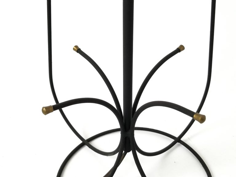 Steel 1950s Wire Floor Lamp in the Style of Tony Paul, USA For Sale