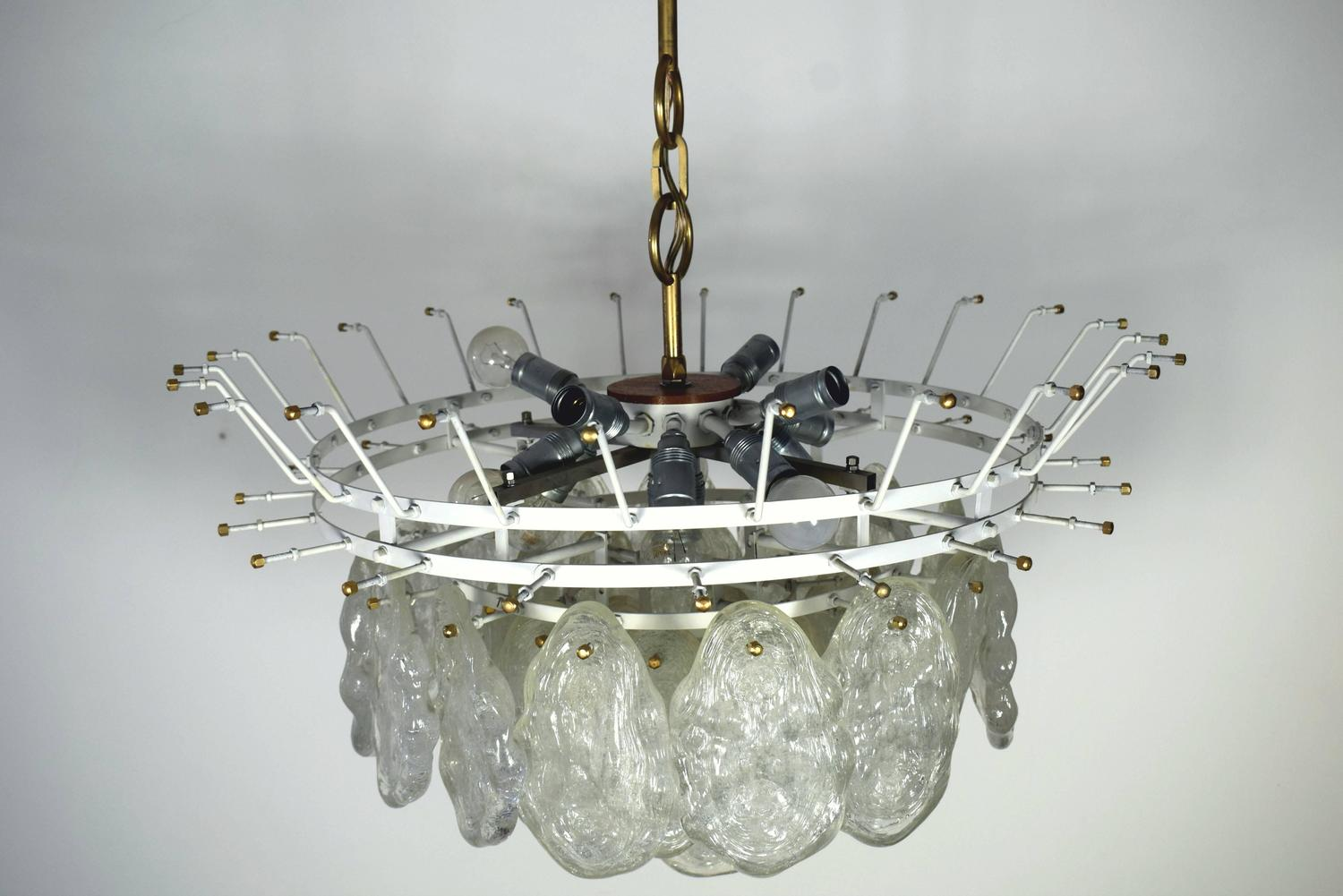 Extra Large Kalmar Chandelier At 1stdibs