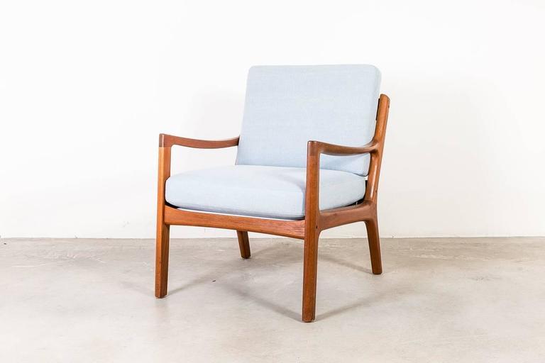 Teak Wood Sofa Set By Ole Wanscher Denmark 1951 For Sale At 1stdibs