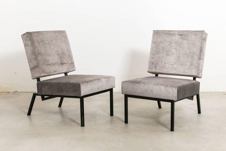 Zanuso Mid Century Daybed And Armchairs 1958 Italy For Sale At 1stdibs