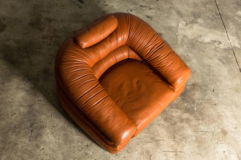 20th Century 1967 Lounge Chair by De Pas, D'Urbino, Lomazzi for Zanotta For Sale