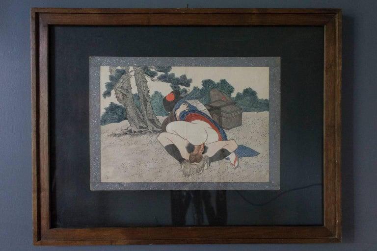 Original And Framed Shunga Prints By Kitagawa Utamaro At 1Stdibs-3773
