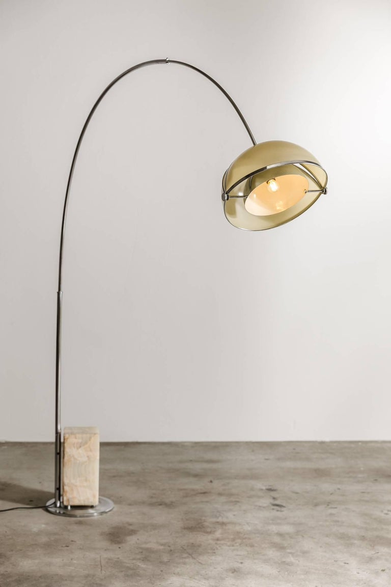 Oolok Molok Arco Lamp By Superstudio 1968 Italy For Sale