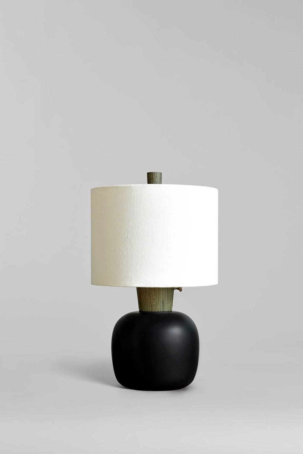 Marty Iii Turned Ash Bedside Or Table Lamp For Sale At 1stdibs