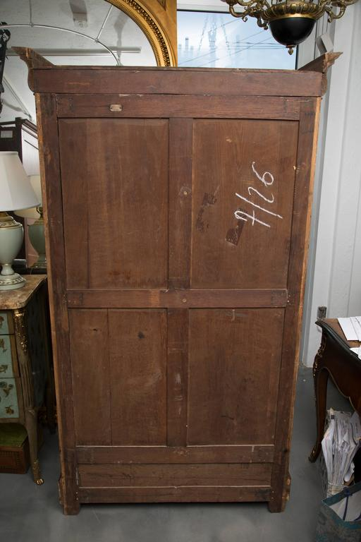 kitchen steel cabinets 19th century empire mahogany bookcase for at 22043