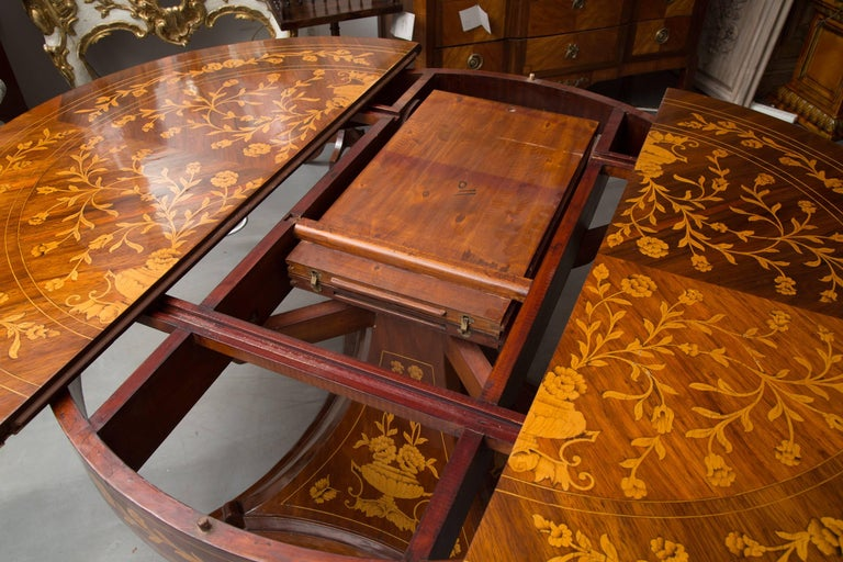 Other Dutch Marquetry Centre Table For Sale