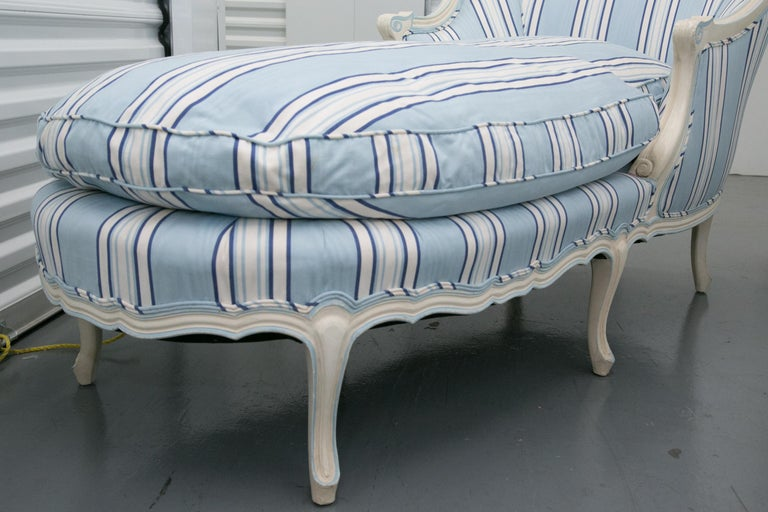 Wood Custom Chaise Longue For Sale
