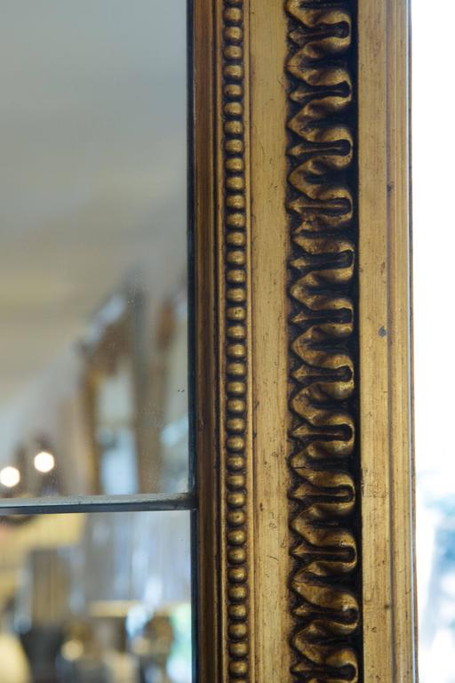 French 19th Century Giltwood Palace Mirror For Sale