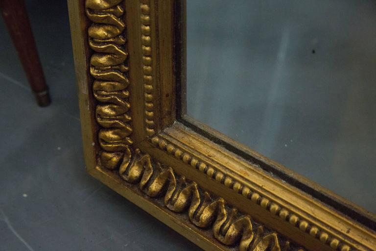 19th Century Giltwood Palace Mirror In Good Condition For Sale In WEST PALM BEACH, FL