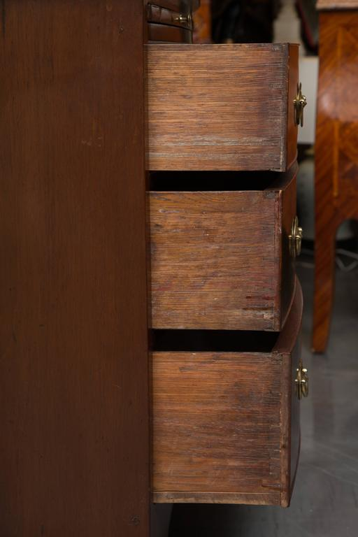 19th Century English George III Mahogany Chest of Drawers For Sale