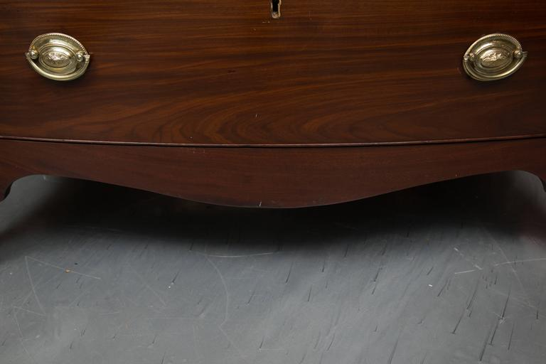 English George III Mahogany Chest of Drawers For Sale 1