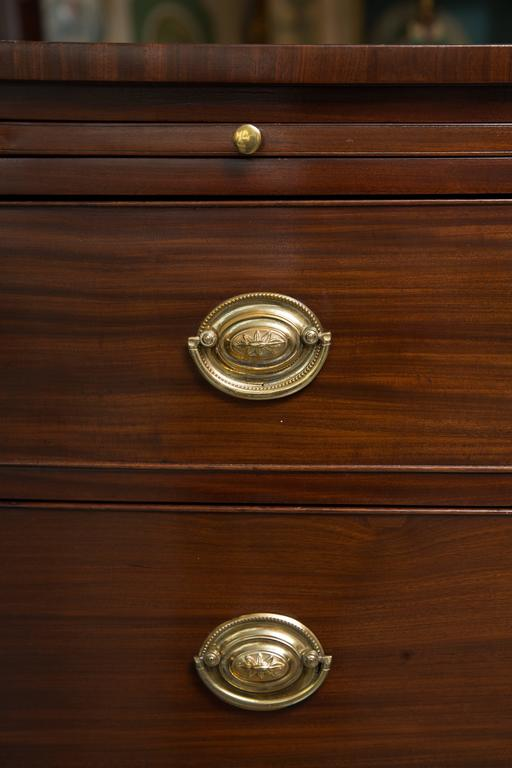 English George III Mahogany Chest of Drawers For Sale 5