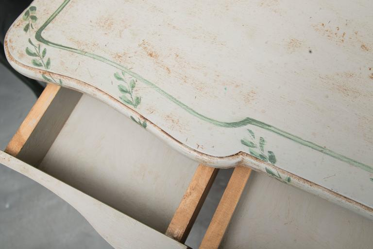 Louis XV Style Painted Writing Table 4