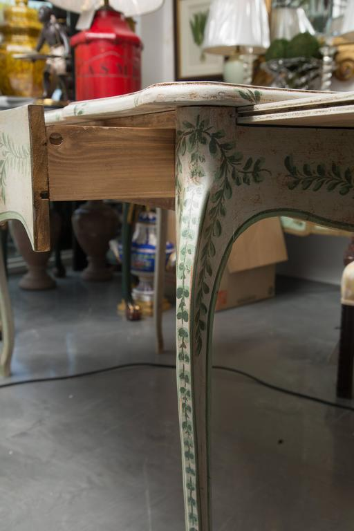 Louis XV Style Painted Writing Table 8